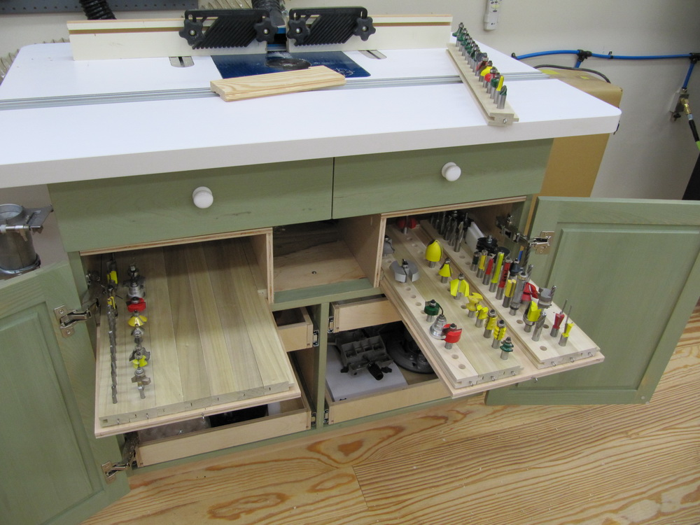 Router Table Cabinet Complete!   TWStud's Musings